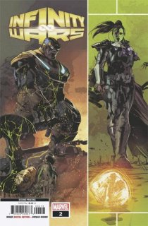 INFINITY WARS #2 (OF 6) 3RD PTG DEODATO VAR【再入荷】