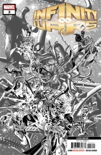 INFINITY WARS #3 (OF 6) 2ND PTG DEODATO VAR【再入荷】