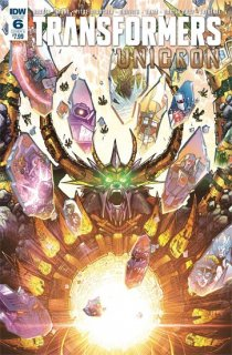 TRANSFORMERS UNICRON #6 (OF 6) CVR A MILNE【再入荷】