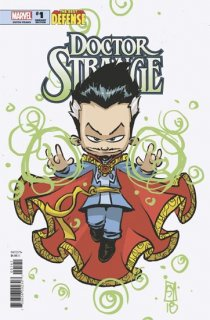 DEFENDERS DOCTOR STRANGE #1 YOUNG VAR