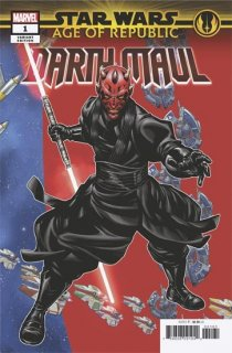 STAR WARS AGE REPUBLIC DARTH MAUL #1 MCKONE PUZZLE PC VAR