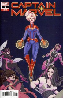 CAPTAIN MARVEL #1 TSAI VAR