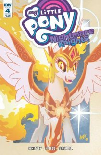 MY LITTLE PONY NIGHTMARE KNIGHTS #4 CVR A FLEECS
