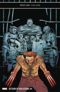 RETURN OF WOLVERINE #4 (OF 5) SHALVEY VAR