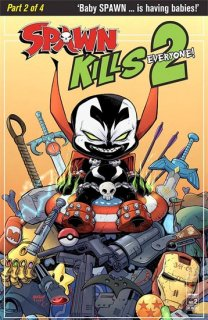 SPAWN KILLS EVERYONE TOO #2 (OF 4) CVR A MCFARLANE