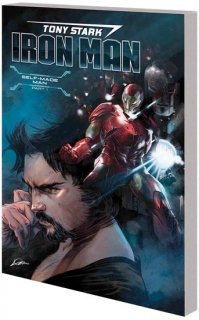 TONY STARK IRON MAN TP VOL 01 SELF MADE MAN【再入荷】