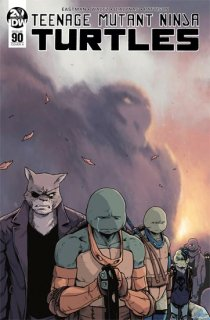 TMNT ONGOING #90 CVR A DIALYNAS