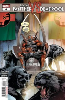 BLACK PANTHER VS DEADPOOL #4 (OF 5)