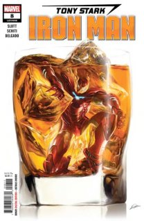 TONY STARK IRON MAN #8