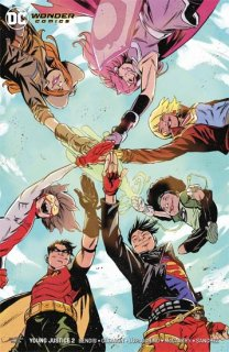 YOUNG JUSTICE #2 VAR ED