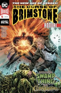 CURSE OF BRIMSTONE ANNUAL #1【遅延入荷】