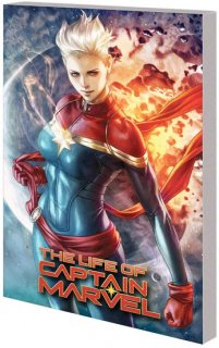 LIFE OF CAPTAIN MARVEL TP【再入荷】