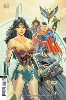 JUSTICE LEAGUE #19 VAR ED