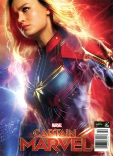CAPTAIN MARVEL OFF MOVIE SPECIAL MAG PX ED