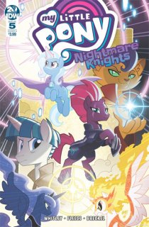 MY LITTLE PONY NIGHTMARE KNIGHTS #5 CVR A FLEECS