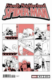 FRIENDLY NEIGHBORHOOD SPIDER-MAN #4 FUJI CAT VAR