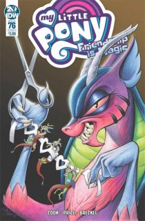 MY LITTLE PONY FRIENDSHIP IS MAGIC #76 CVR A PRICE