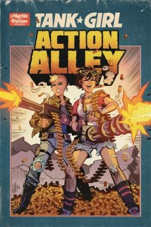 TANK GIRL ACTION ALLEY #3 CVR A PARSON【遅延入荷】