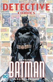 DETECTIVE COMICS 80 YEARS OF BATMAN DLX ED HC【再入荷】