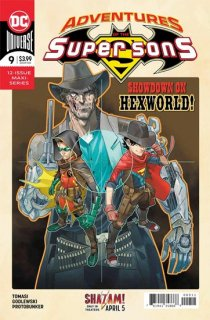 ADVENTURES OF THE SUPER SONS #9 (OF 12)