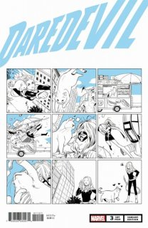 DAREDEVIL #3 FUJI CAT VAR【再入荷】