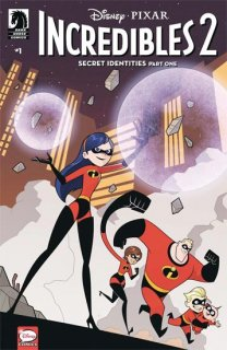 DISNEY INCREDIBLES 2 SECRET IDENTITIES #1 (OF 3) CVR B KAWAI