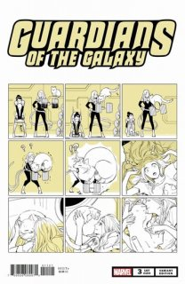 GUARDIANS OF THE GALAXY #3 FUJI CAT VAR【再入荷】