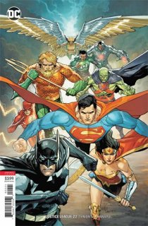JUSTICE LEAGUE #22 VAR ED