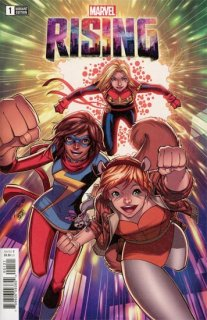 MARVEL RISING #1 (OF 5) LIM VAR【再入荷】