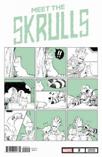 MEET THE SKRULLS #2 (OF 5) FUJI CAT VAR【再入荷】