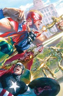 AVENGERS #18 ALEX ROSS MARVELS 25TH TRIBUTE VAR WR