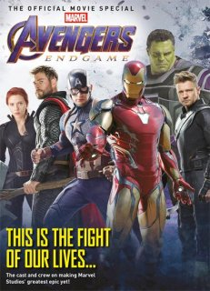 AVENGERS ENDGAME OFFICIAL MOVIE SPECIAL MAG NEWSSTAND ED