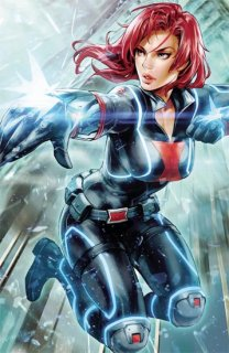 BLACK WIDOW #5 K LEE MARVEL BATTLE LINES VAR