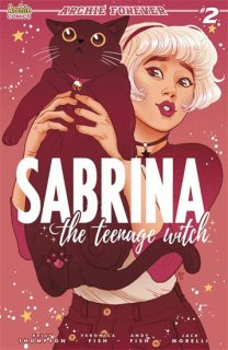 SABRINA TEENAGE WITCH #2 (OF 5) CVR B GANUCHEAU