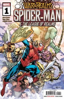 WAR OF REALMS SPIDER-MAN & LEAGUE OF REALMS #1 (OF 3) WR