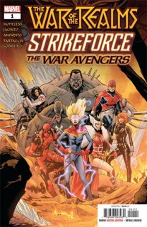 WAR OF REALMS STRIKEFORCE WAR AVENGERS #1 WR