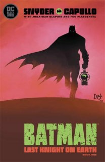BATMAN LAST KNIGHT ON EARTH #1 (OF 3)【再入荷】
