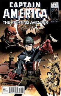 CAPTAIN AMERICA FIGHTING AVENGER #1 GURIHIRU VAR【再入荷】