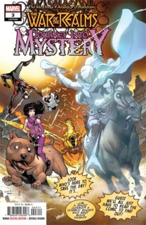 WAR OF REALMS JOURNEY INTO MYSTERY #3 (OF 5) WR【遅延入荷】