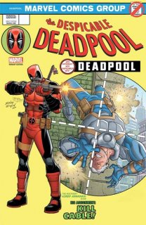 DESPICABLE DEADPOOL #287 ESPIN LH VAR LEG【再入荷】