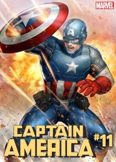CAPTAIN AMERICA #11 YOON LEE MARVEL BATTLE LINES VAR