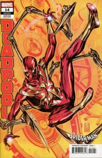 DEADPOOL #14 BROOKS SPIDER-MAN FANTASTIC VAR