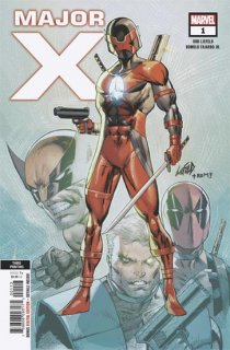 MAJOR X #1 (OF 6) 3RD PTG LIEFELD VAR【遅延入荷】