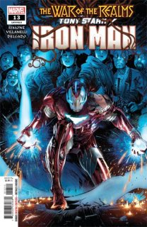 TONY STARK IRON MAN #13 WR