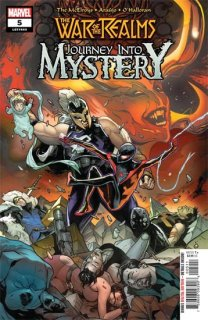 WAR OF REALMS JOURNEY INTO MYSTERY #5 (OF 5) WR