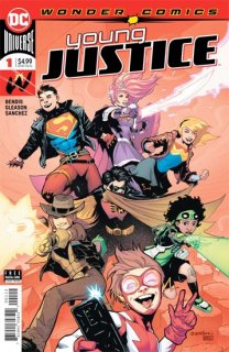 YOUNG JUSTICE #1 2ND PTG【再入荷】