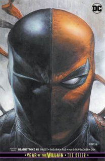 DEATHSTROKE #45 CARD STOCK VAR ED YOTV THE OFFER