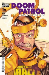 DOOM PATROL WEIGHT OF THE WORLDS #1 VAR ED