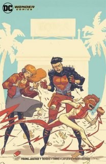 YOUNG JUSTICE #7 VAR ED