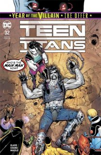 TEEN TITANS #32 YOTV THE OFFER
